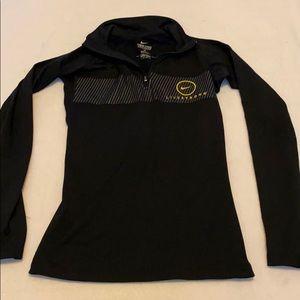 Nike LiveStrong quarter zip pullover